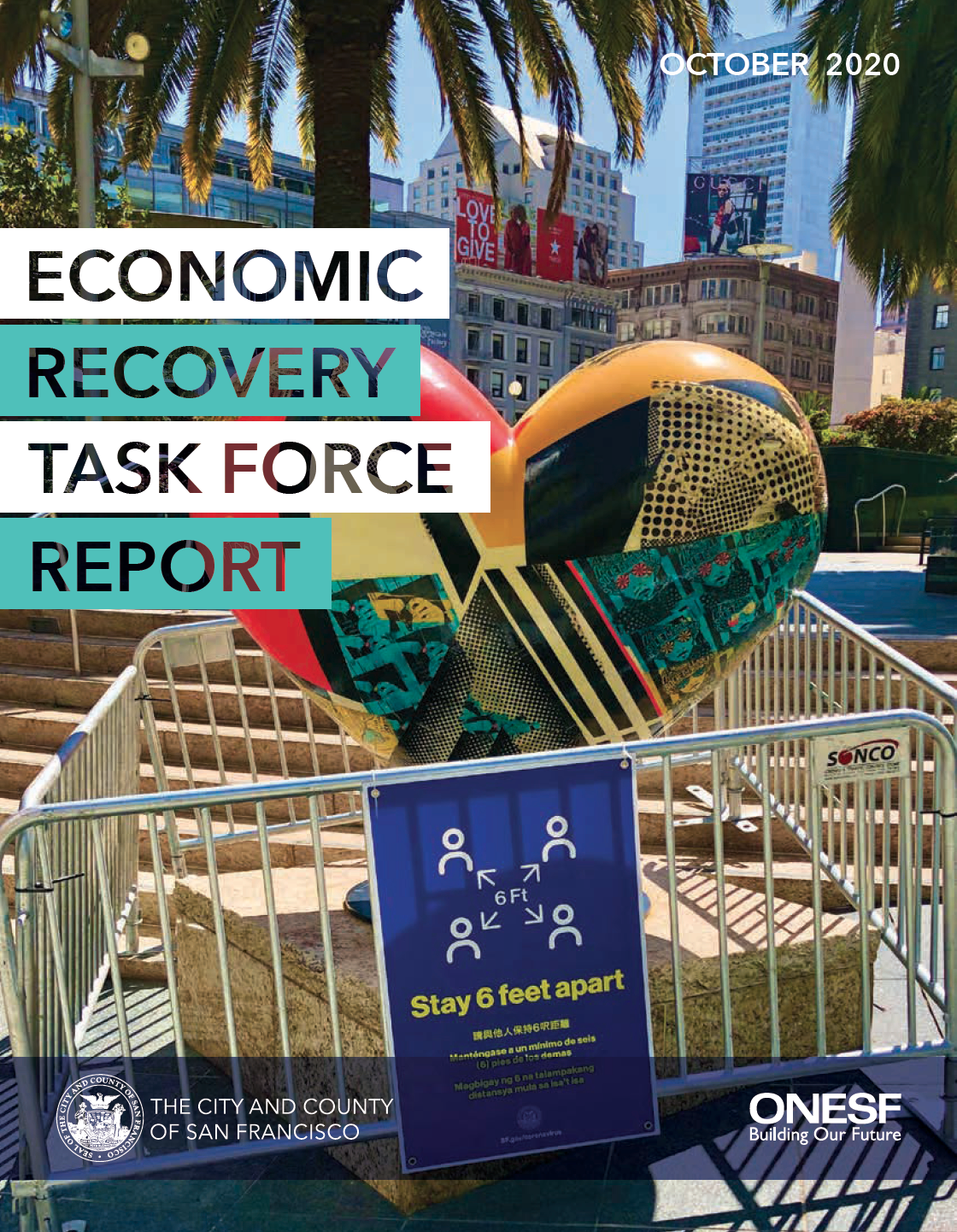 Economic Recovery Task Force Report - English